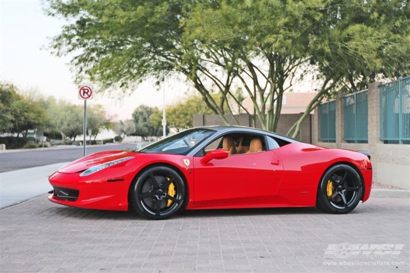 2011 Ferrari 458 Italia with 20