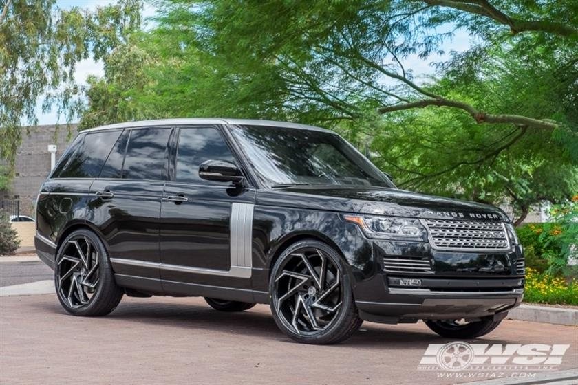 2016 Land Rover Range Rover on 24