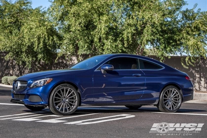 2017 Mercedes-Benz C-Class Coupe with 20