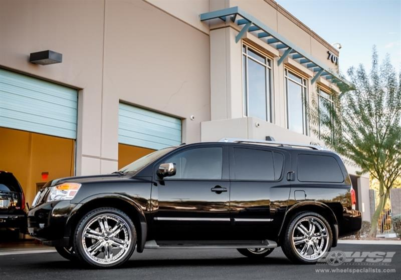 2012 Nissan Armada with 24
