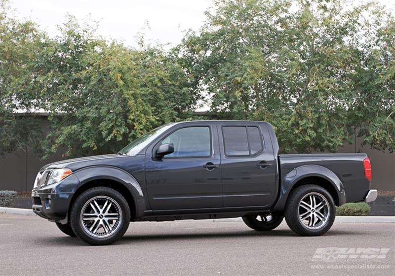 2012 Nissan Frontier with 20