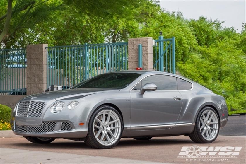 2013 Bentley Continental with 22
