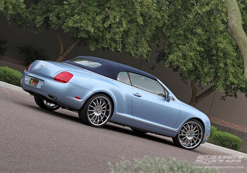 2011 Bentley Continental with 22