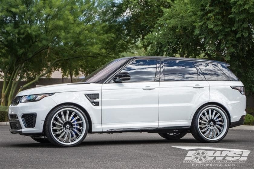 2016 Land Rover Range Rover Sport with 24