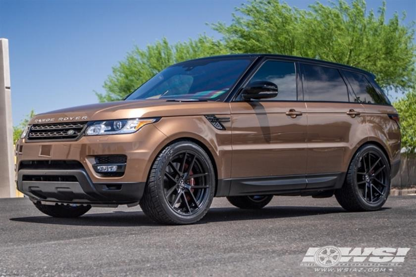 2016 Land Rover Range Rover Sport with 22