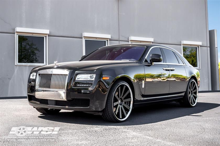 2011 Rolls Royce Ghost with Gianelle Wheels