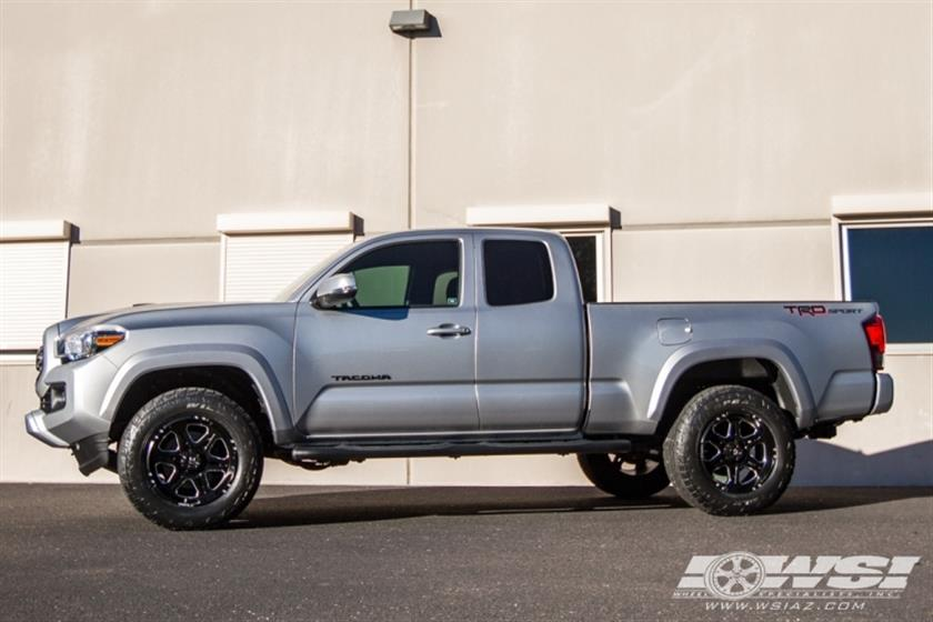 2016 Toyota Tacoma with 18