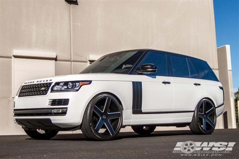 2014 Range Rover with 24