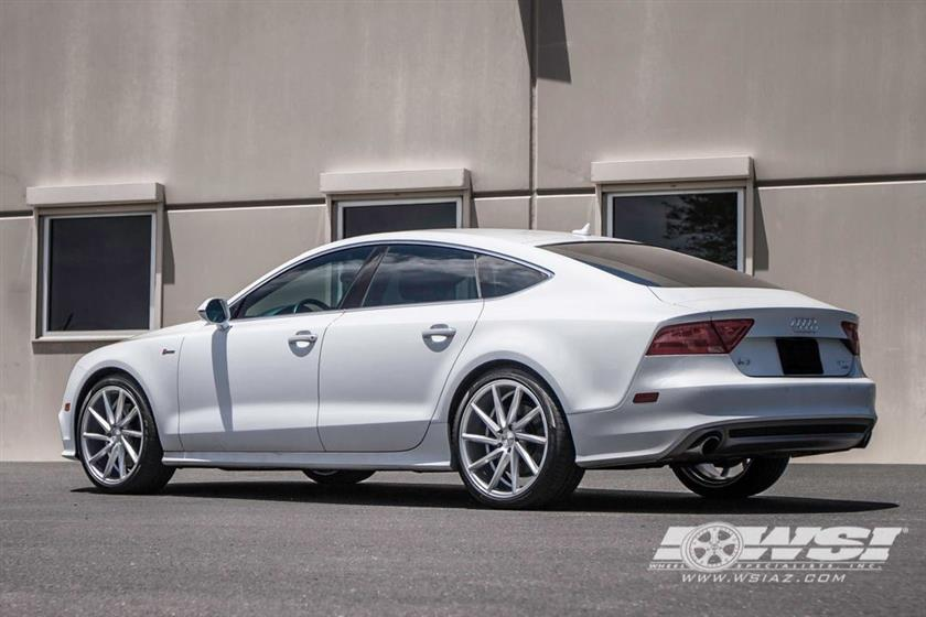 Audi A7 Quattro with 20