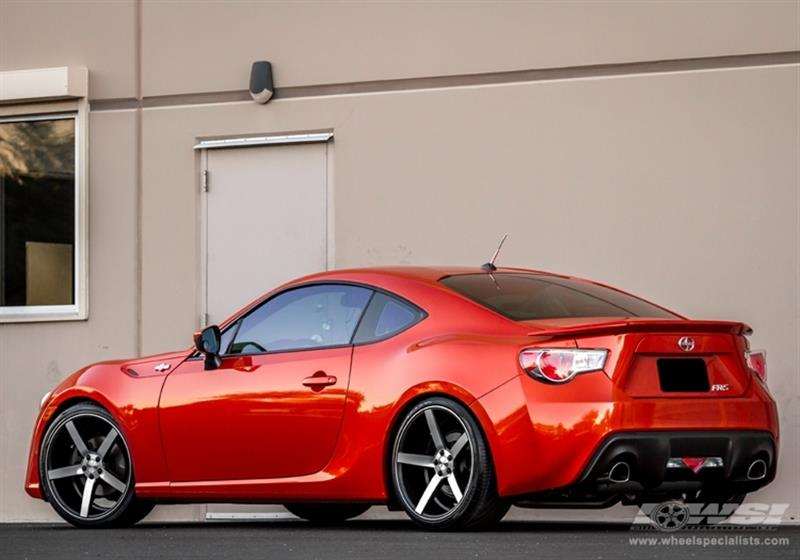 2013 Scion FR-S with 19