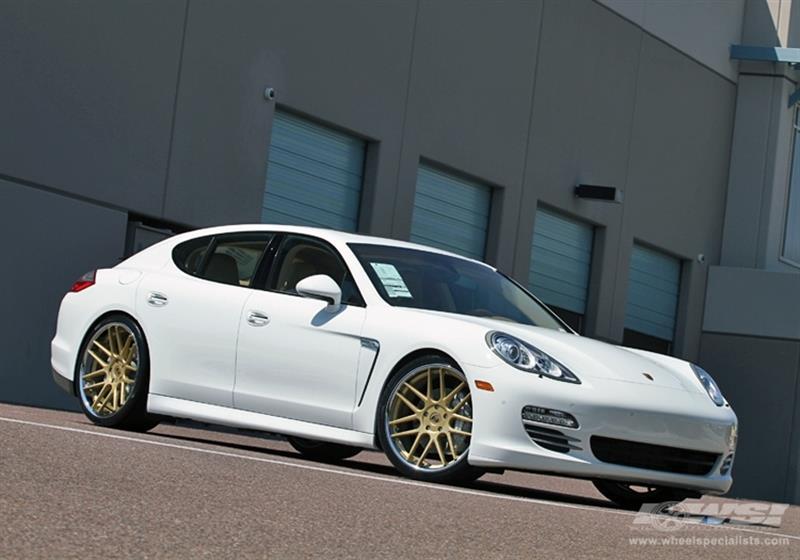 2012 Porsche Panamera with 22