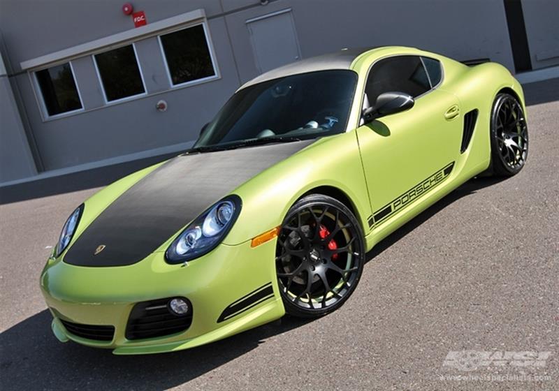 2012 Porsche Cayman with 20