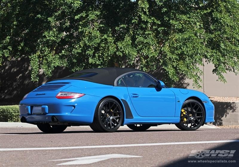 2012 Porsche 911 Speedster with 20