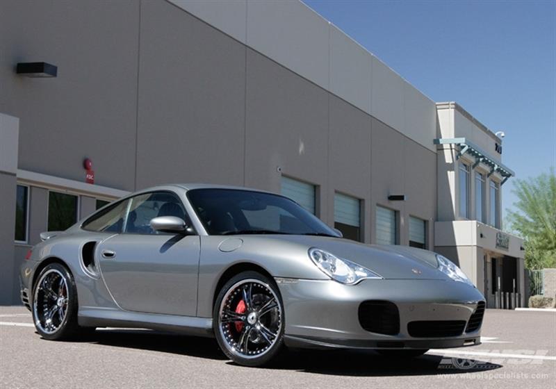 2004 Porsche 911 with 20