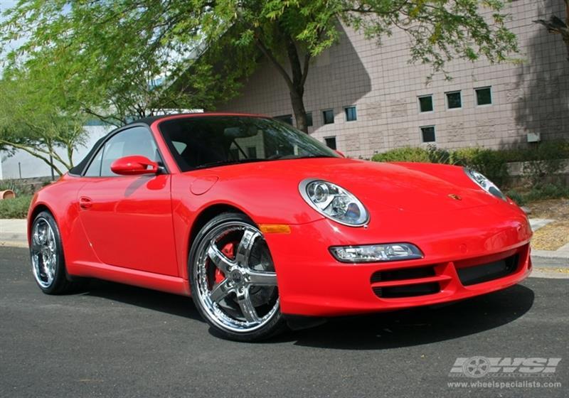 2007 Porsche 911 with 20