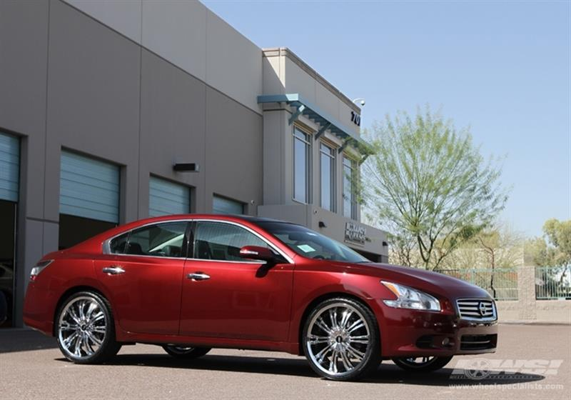 2012 Nissan Maxima with 22