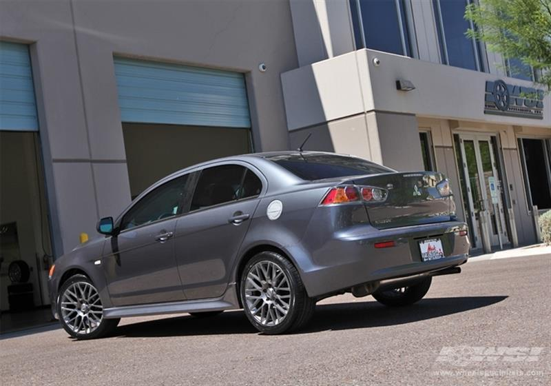 2010 Mitsubishi Lancer with 18