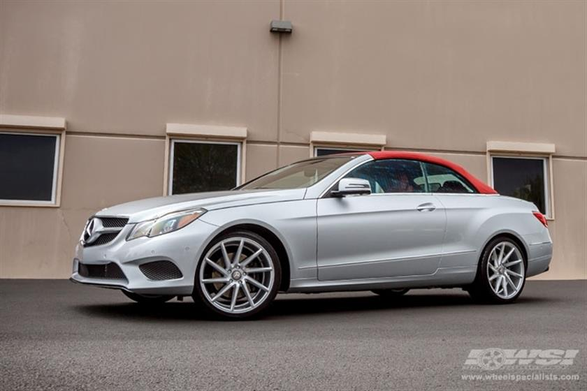 2014 Mercedes-Benz E-Class Coupe with 19