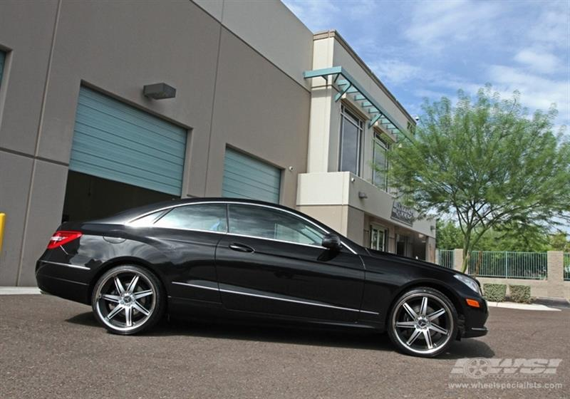 2010 Mercedes-Benz E-Class Coupe with 20