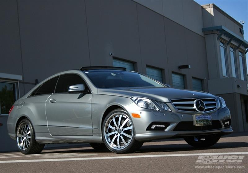 2010 Mercedes-Benz E-Class Coupe with 19
