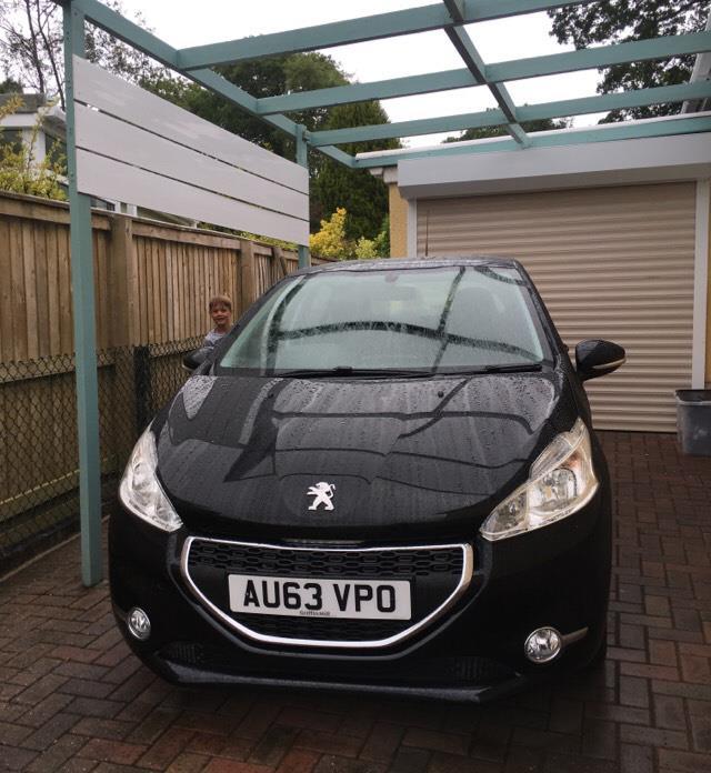 Alfie's car