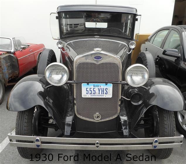 1930 Ford Model A Tudor Sedan