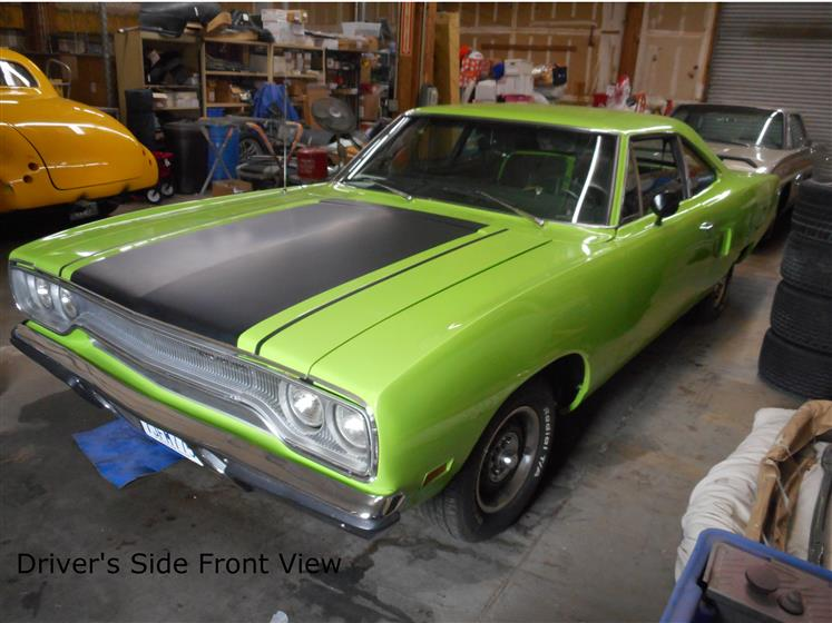 1970 Lime Green Plymouth RoadRunner