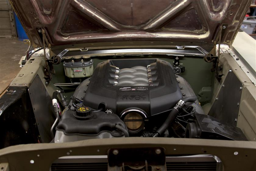 1966 Mustang RHD Coyote Conversion,Ford