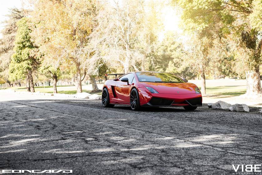 Lamborghini Gallardo Super Trofeo on Concavo CW-S5