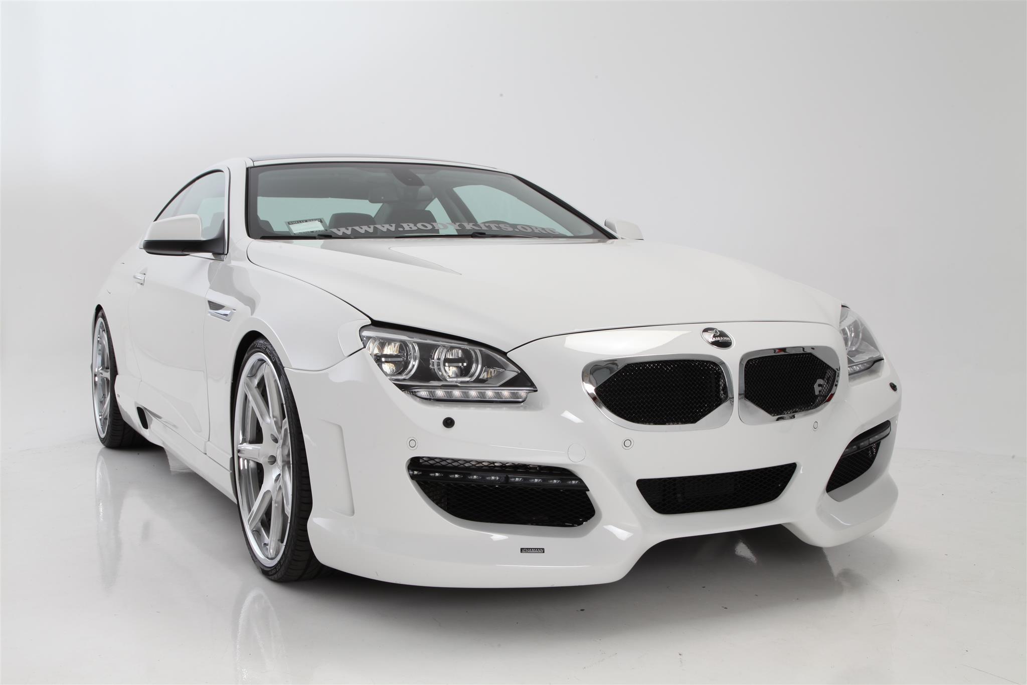 """2012 BMW 640i -  22"""" Forgiato F 22 Wheels - Polished, Pirelli Tires:, Eibach Springs:, HAMANN USA Aero Kit:"""