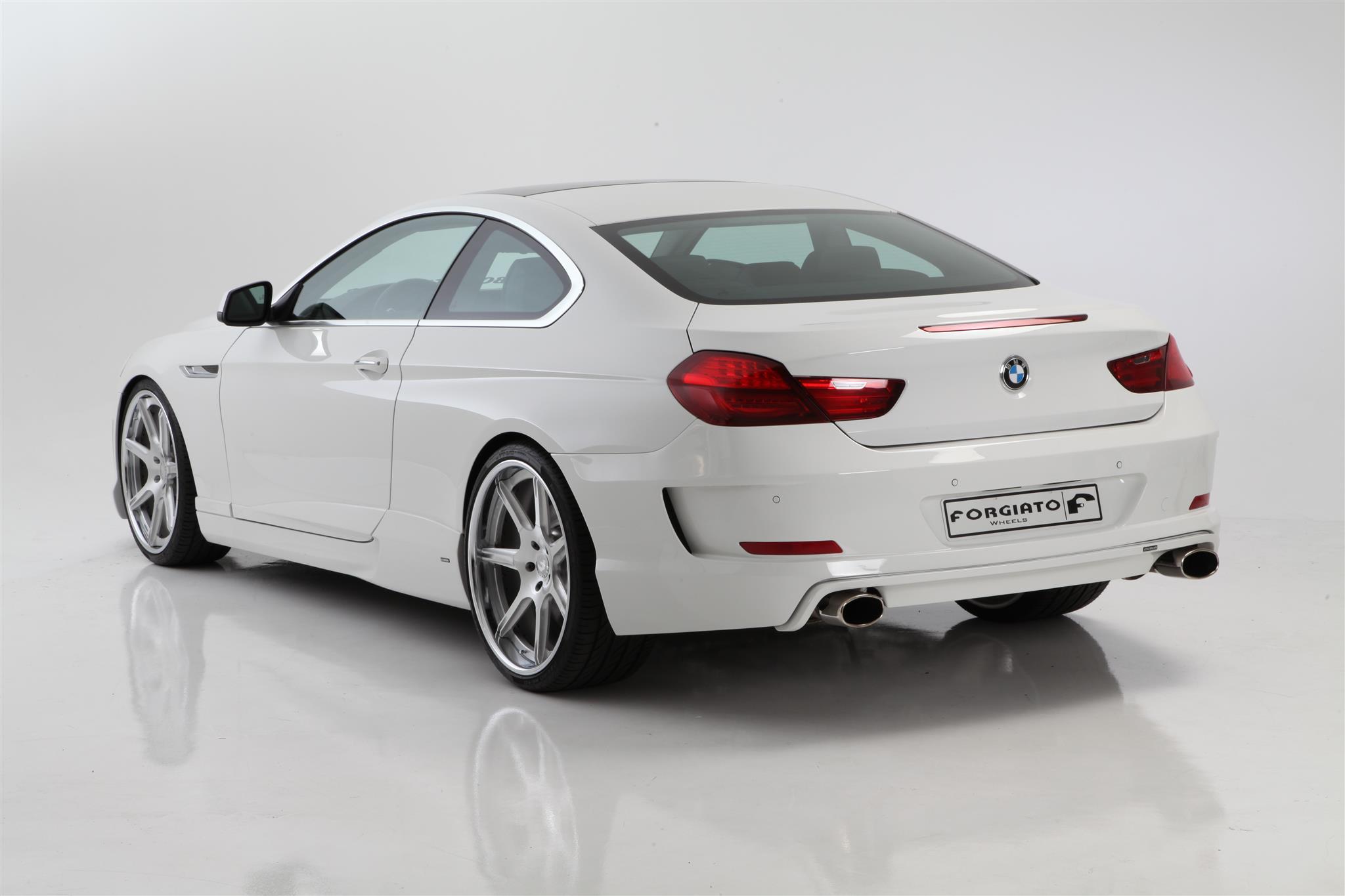 """2012 BMW 640i -  Eibach Springs, Pirelli Tires:, 22"""" Forgiato F 22 Wheels:, HAMANN USA Aero Kit:"""