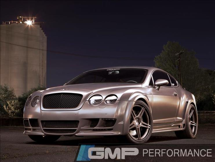 Bentley Continental GT with Hamann Widebody Kit