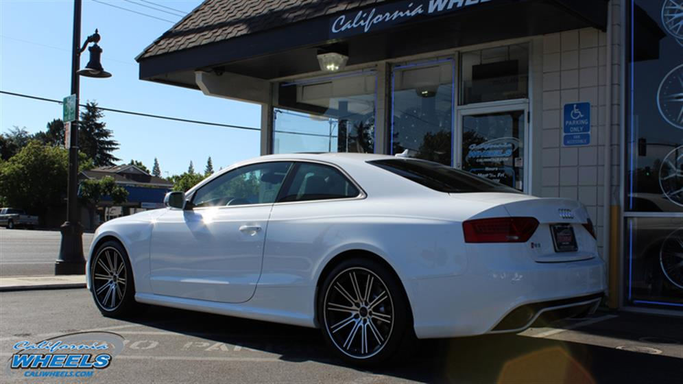 2013 Audi RS5 on Savini Black Di Forza BM3 Wheels