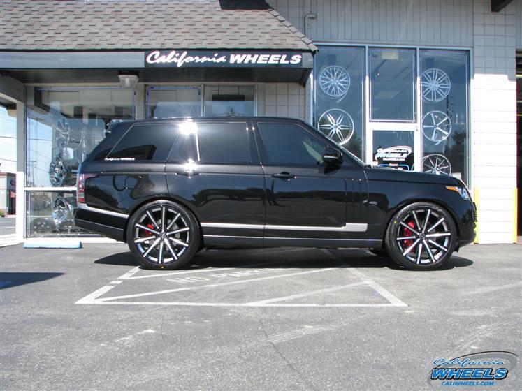 Land Rover Range Rover on Vellano VM03 Wheels