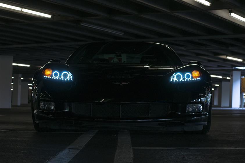 Black 2008 Corvette Z06 ,Chevrolet