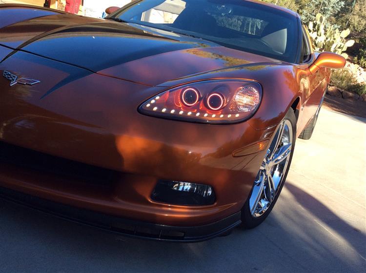 Chevrolet Corvette C6 Hammerhead LED Bezel