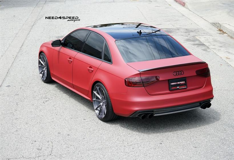 Audi S4 on Vertini RF1.1