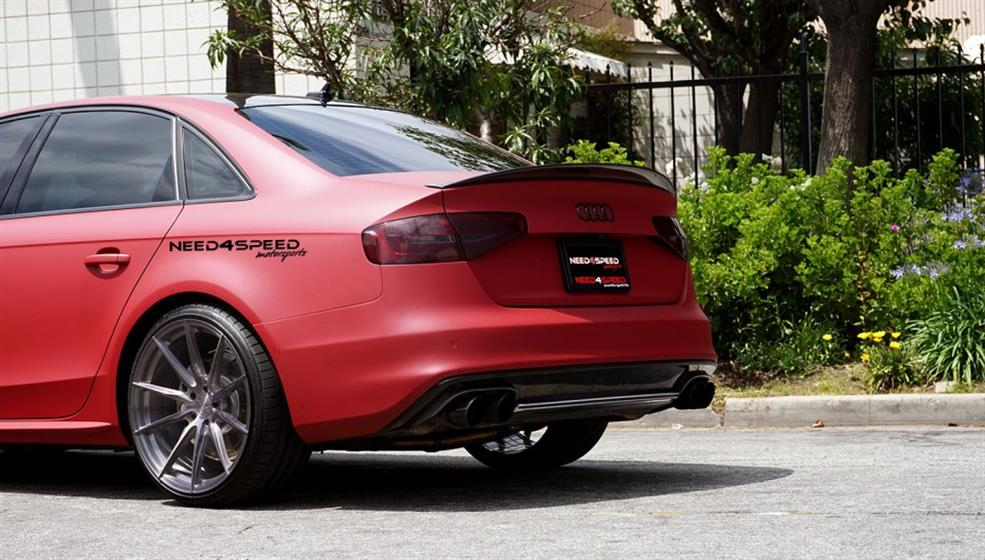 Audi S4 on Vertini RF1.1