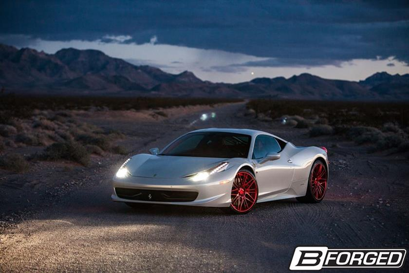Ferrari 458 Italia with B-Forged 710 Wheels