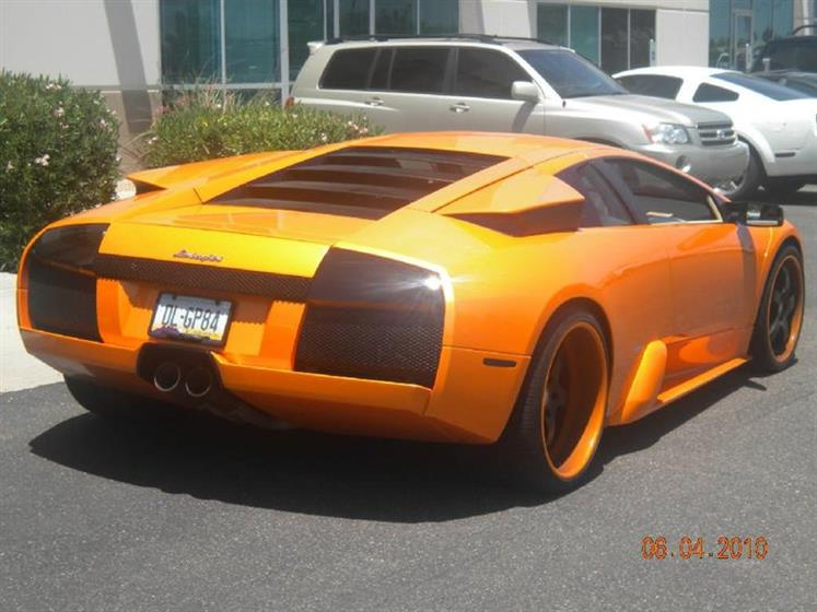 Lamborghini Smoked Tails