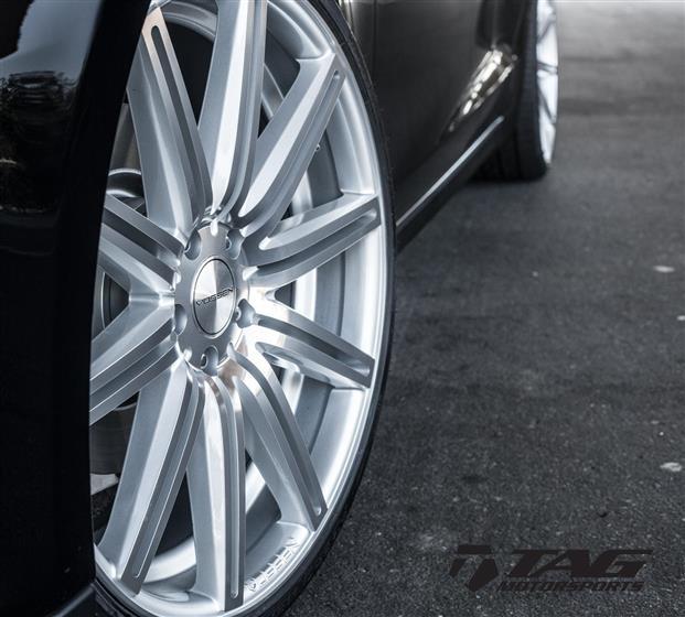 Tesla Model S on Vossen Wheels