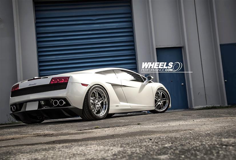Lamborghini Gallardo with Asanti AF-173 wheels